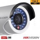 Sistem supraveghere exterior TurboHD Hikvision TVI-8EXT20-720P-S, 8 camere, 1 MP, IR 20 m