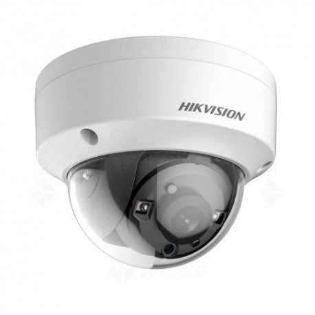 Camera supraveghere Dome Hikvision TurboHD DS-2CE56H1T-VPIT, 4 MP, IR 20 m, 2.8 mm