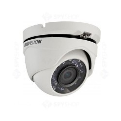 Camera supraveghere Dome Hikvision TurboHD DS-2CE56D0T-IRMF, 2 MP, IR 20 m, 2.8 mm