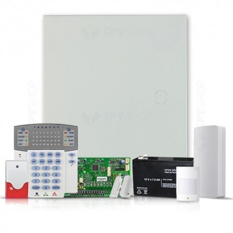 SISTEM ALARMA PARADOX SP 5500 INTERIOR + COMUNICATOR GSM/GPRS