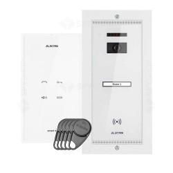 Set interfon Electra Touch Line Smart+ AKM.P1FR.T0S4.ELW, 1 familie